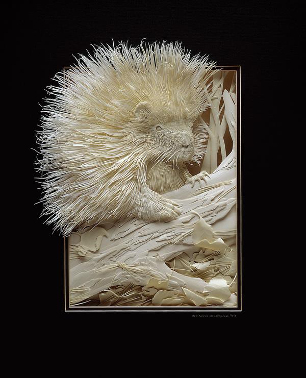 Top Les sculptures sur papier de Calvin Nicholls FF38