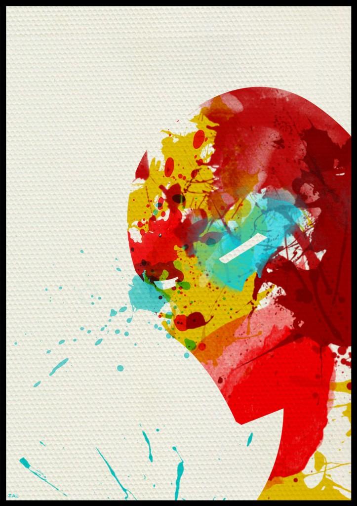 superhero peinture pochoir 05 Peinture, pochoirs et super héros