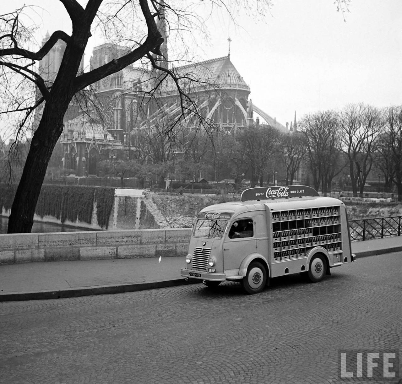 1950 coca cola arrive france 01 1950, Coca Cola arrive en France
