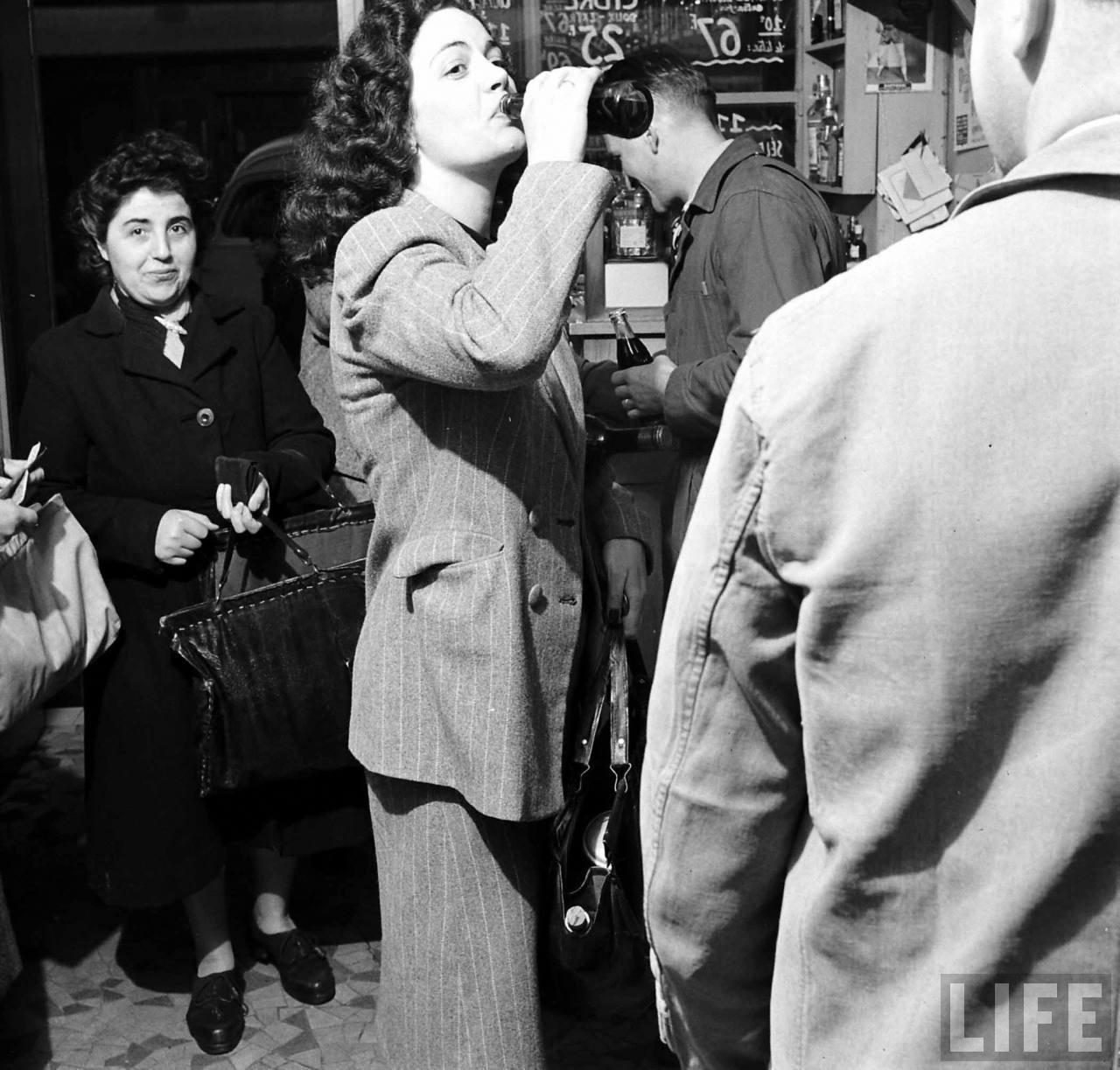 1950 coca cola arrive france 07 1950, Coca Cola arrive en France