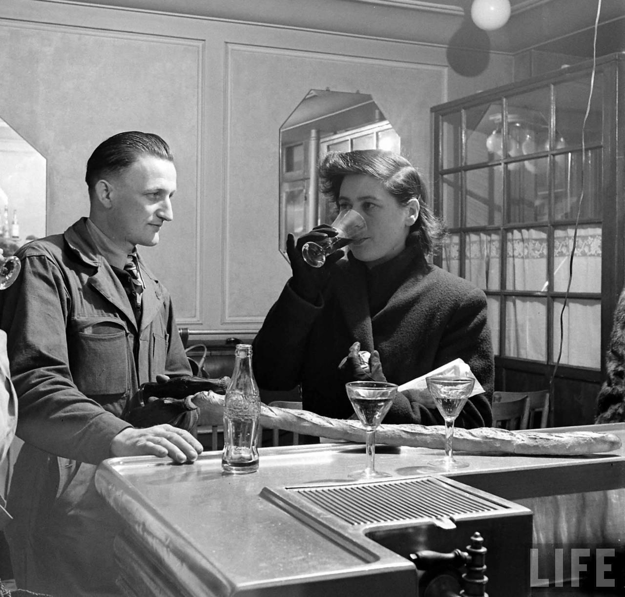1950 coca cola arrive france 08 1950, Coca Cola arrive en France