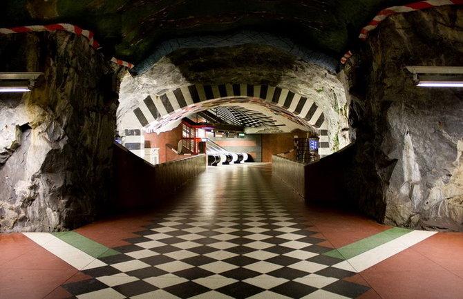 Metro Stockholm Station Art 04 Les stations du Métro de Stockholm