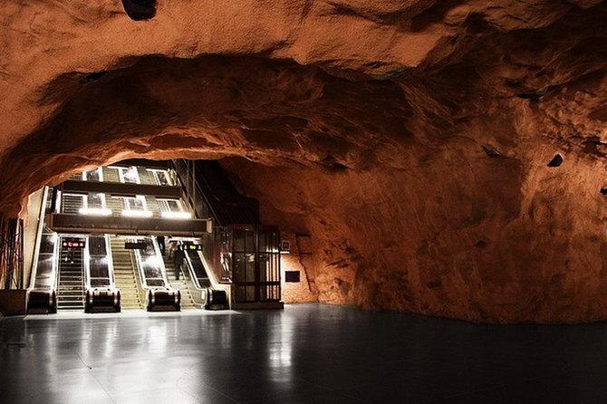Metro Stockholm Station Art 24 Les stations du Métro de Stockholm