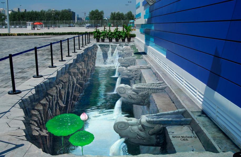Les Trompe L Oeil De Qi Xinghua