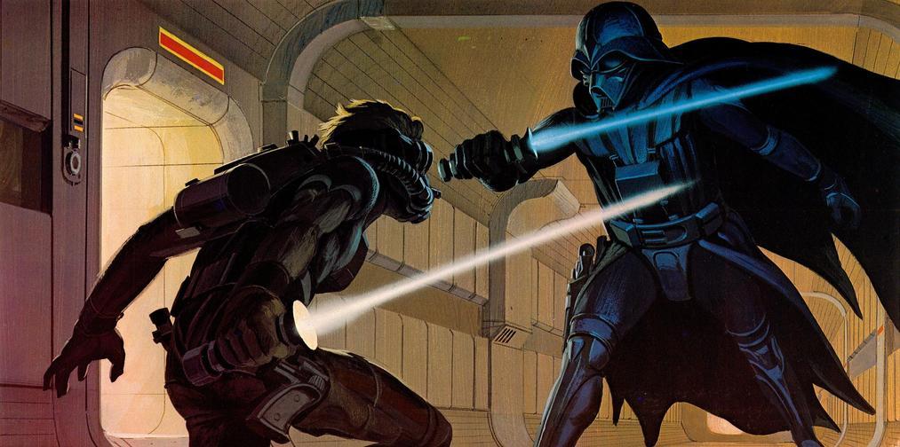 Les illustrations originales du storyboard de Star Wars ! By Laboiteverte Illustration-originale-storyboard-star-wars-01