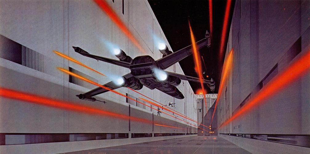 Les illustrations originales du storyboard de Star Wars ! By Laboiteverte Illustration-originale-storyboard-star-wars-03