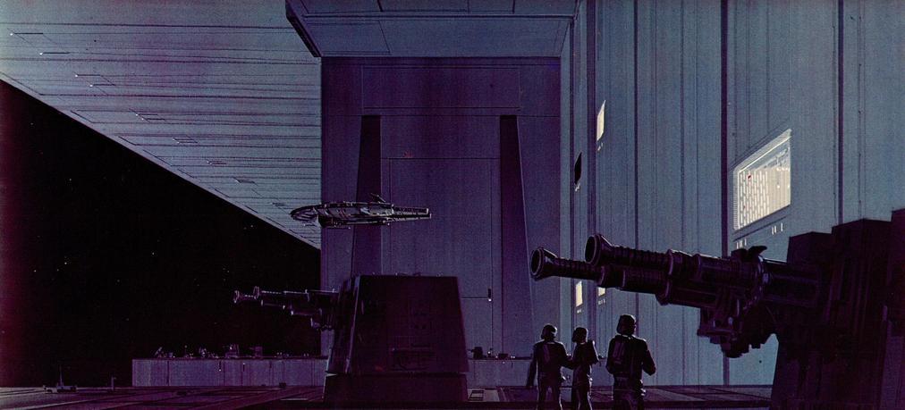 Les illustrations originales du storyboard de Star Wars ! By Laboiteverte Illustration-originale-storyboard-star-wars-06