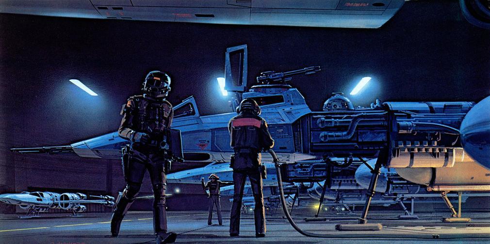 Les illustrations originales du storyboard de Star Wars ! By Laboiteverte Illustration-originale-storyboard-star-wars-08