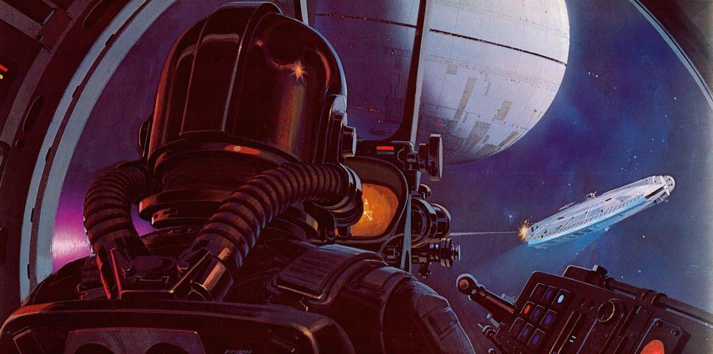 Les illustrations originales du storyboard de Star Wars ! By Laboiteverte Illustration-originale-storyboard-star-wars-09