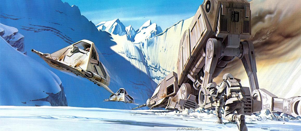 Les illustrations originales du storyboard de Star Wars ! By Laboiteverte Illustration-originale-storyboard-star-wars-17