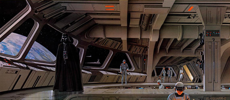 Les illustrations originales du storyboard de Star Wars ! By Laboiteverte Illustration-originale-storyboard-star-wars-20