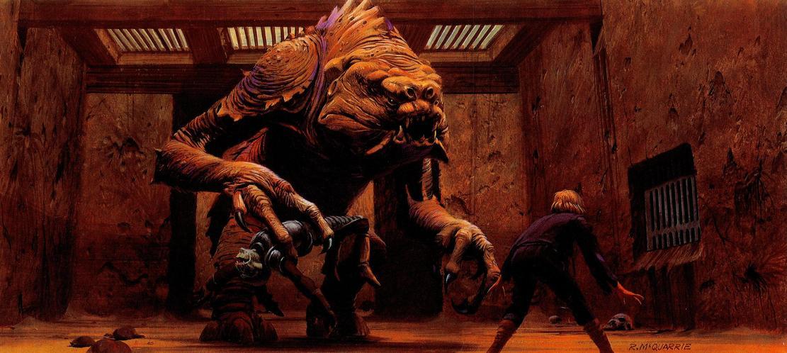 Les illustrations originales du storyboard de Star Wars ! By Laboiteverte Illustration-originale-storyboard-star-wars-28