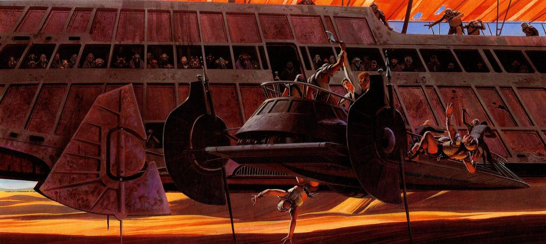 Les illustrations originales du storyboard de Star Wars ! By Laboiteverte Illustration-originale-storyboard-star-wars-29