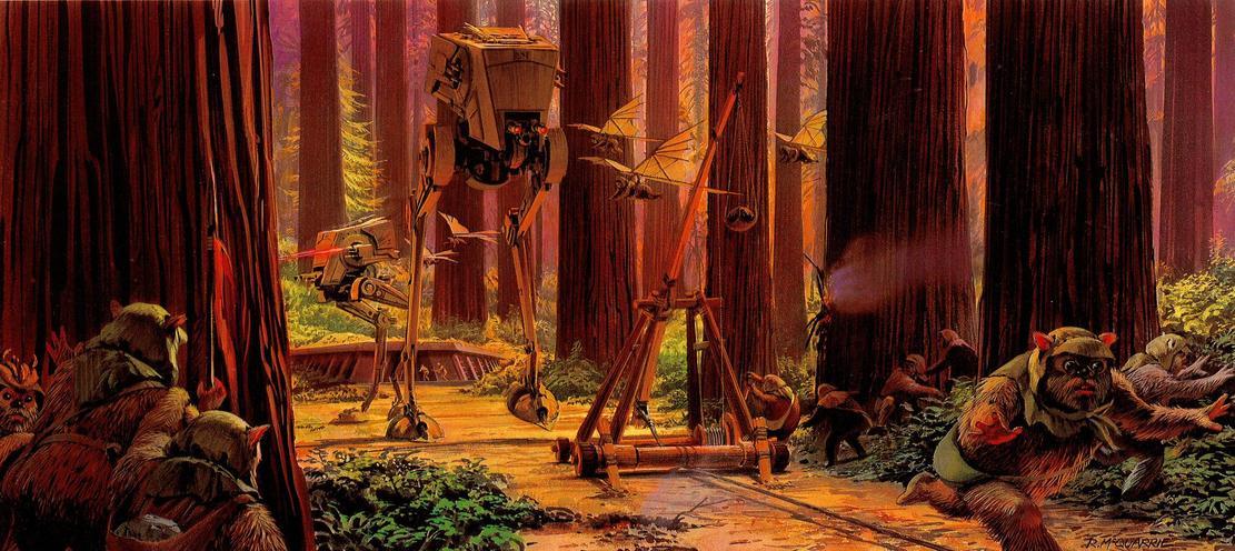Les illustrations originales du storyboard de Star Wars ! By Laboiteverte Illustration-originale-storyboard-star-wars-32