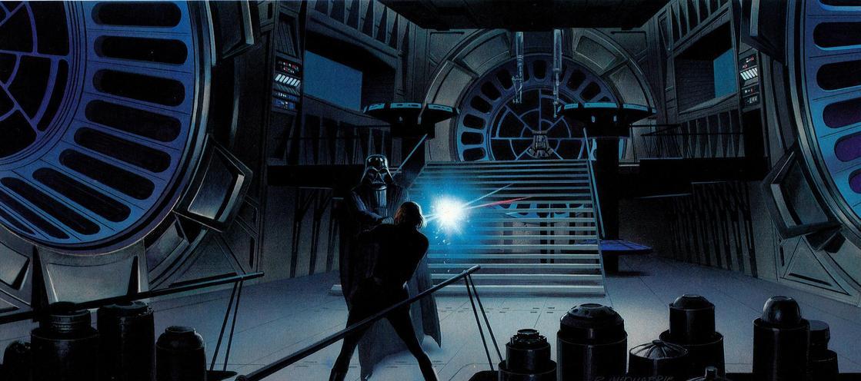 Les illustrations originales du storyboard de Star Wars ! By Laboiteverte Illustration-originale-storyboard-star-wars-33