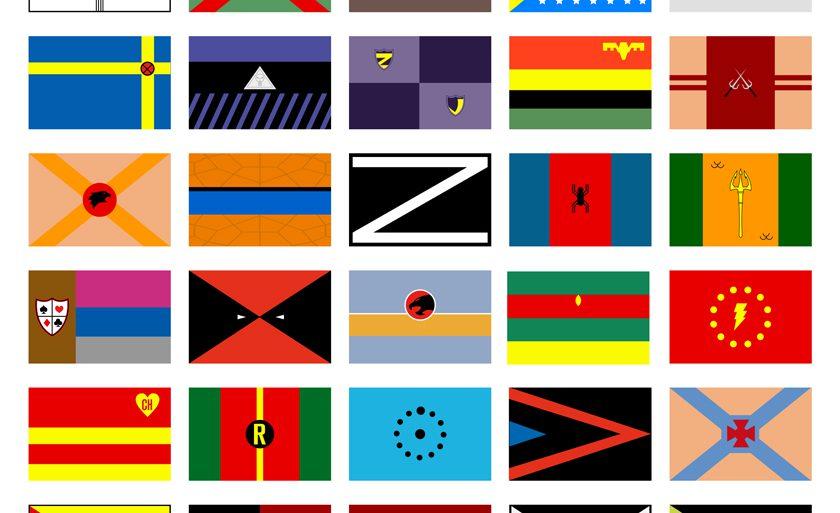 superheros-drapeaux