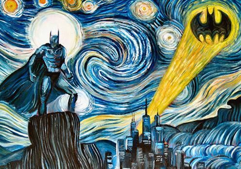 Van Gogh, les parodies et les geeks