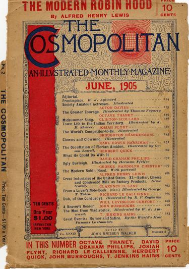 Histoire COSMOPOLITAN MAGAZINE 03 Historique des couvertures de Cosmopolitan Magazine de 1896 à 1976