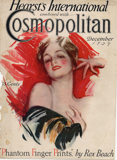 Histoire COSMOPOLITAN MAGAZINE 04 Historique des couvertures de Cosmopolitan Magazine de 1896 à 1976