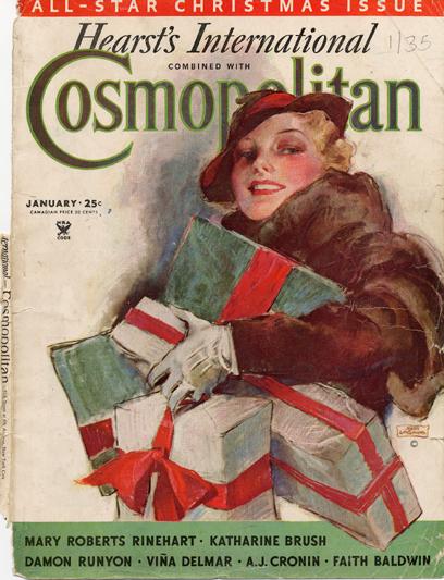 Histoire COSMOPOLITAN MAGAZINE 05 Historique des couvertures de Cosmopolitan Magazine de 1896 à 1976