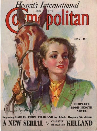 Histoire COSMOPOLITAN MAGAZINE 06 Historique des couvertures de Cosmopolitan Magazine de 1896 à 1976