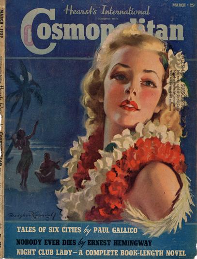 Histoire COSMOPOLITAN MAGAZINE 08 Historique des couvertures de Cosmopolitan Magazine de 1896 à 1976