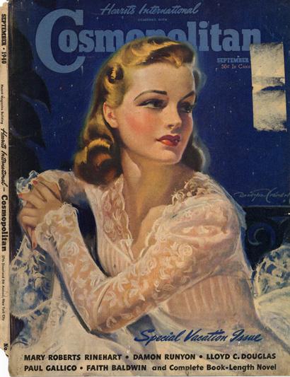 Histoire COSMOPOLITAN MAGAZINE 09 Historique des couvertures de Cosmopolitan Magazine de 1896 à 1976