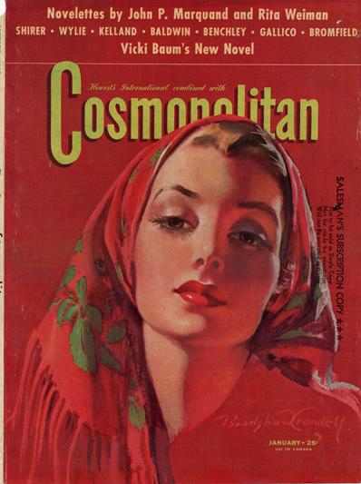 Histoire COSMOPOLITAN MAGAZINE 11 Historique des couvertures de Cosmopolitan Magazine de 1896 à 1976