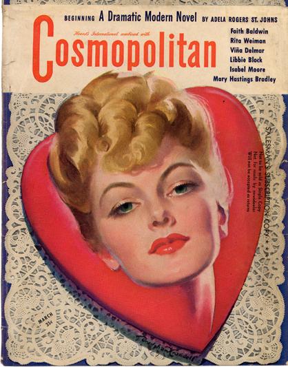 Histoire COSMOPOLITAN MAGAZINE 12 Historique des couvertures de Cosmopolitan Magazine de 1896 à 1976