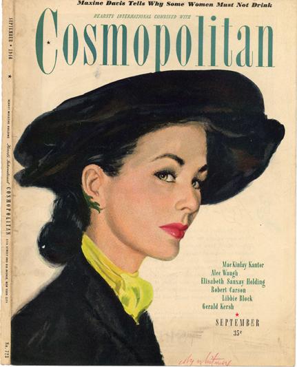 Histoire COSMOPOLITAN MAGAZINE 14 Historique des couvertures de Cosmopolitan Magazine de 1896 à 1976