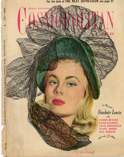 Histoire COSMOPOLITAN MAGAZINE 15 Historique des couvertures de Cosmopolitan Magazine de 1896 à 1976