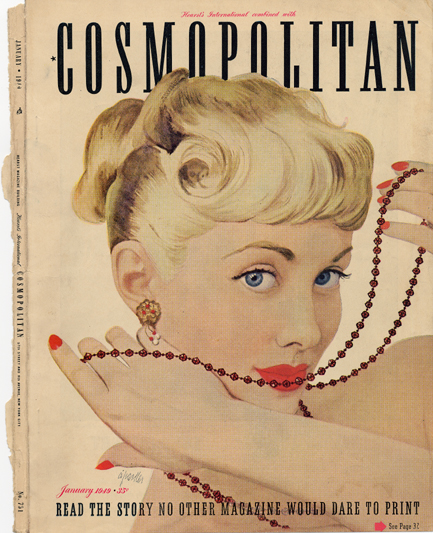 Histoire COSMOPOLITAN MAGAZINE 16 Historique des couvertures de Cosmopolitan Magazine de 1896 à 1976