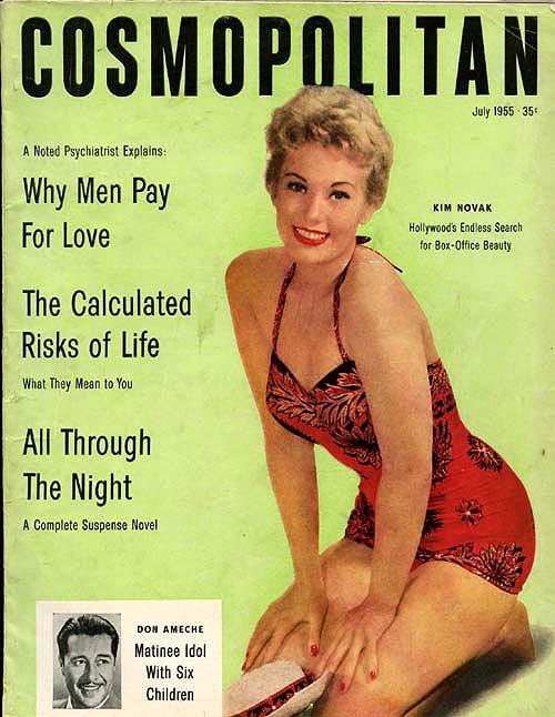 Histoire COSMOPOLITAN MAGAZINE 18 Historique des couvertures de Cosmopolitan Magazine de 1896 à 1976