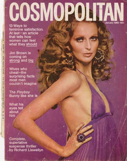 Histoire COSMOPOLITAN MAGAZINE 20 Historique des couvertures de Cosmopolitan Magazine de 1896 à 1976
