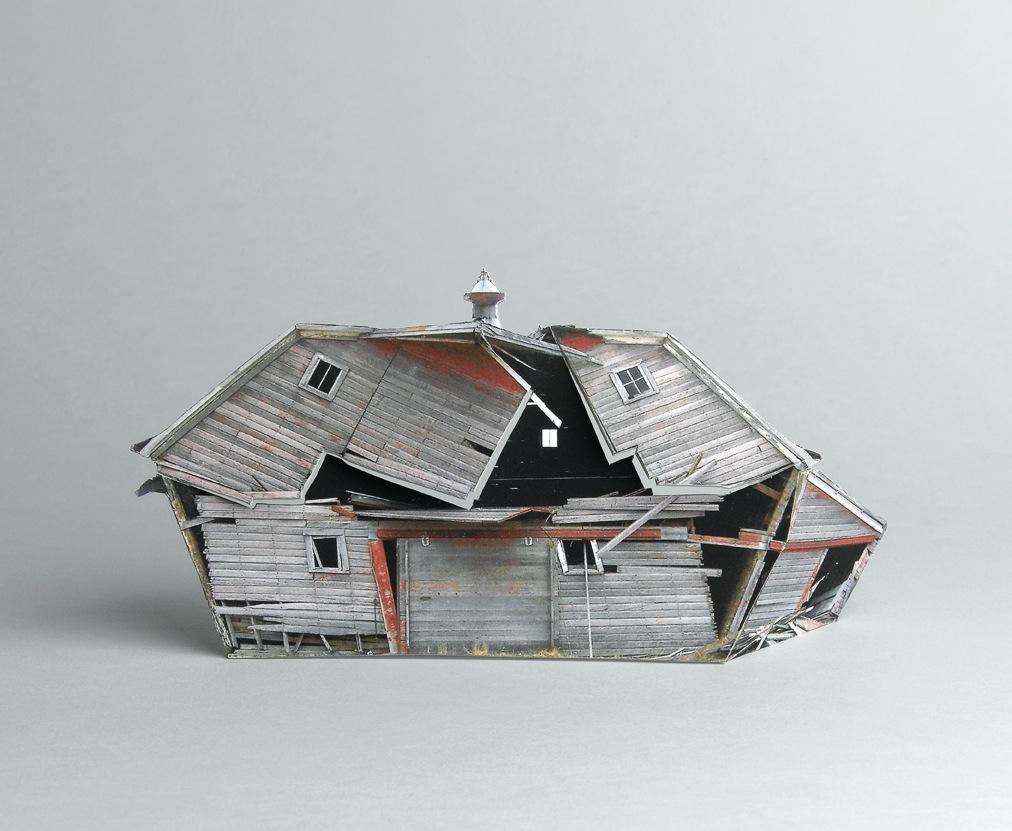 Modele Maison Detruite 01 Maquettes de maisons détruites