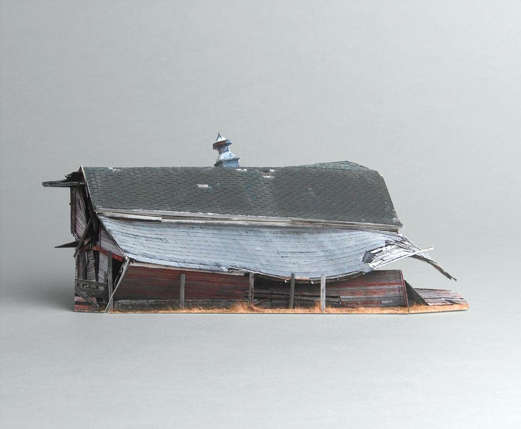 Modele Maison Detruite 02 Maquettes de maisons détruites