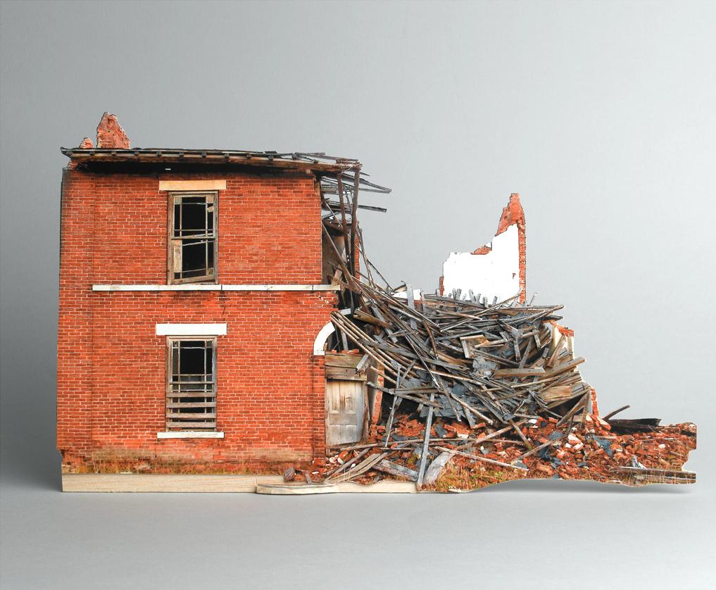 Modele Maison Detruite 05 Maquettes de maisons détruites