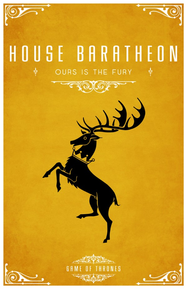 affiche minimaliste poster tv game of thrones 03 Affiches minimalistes pour Game of Thrones