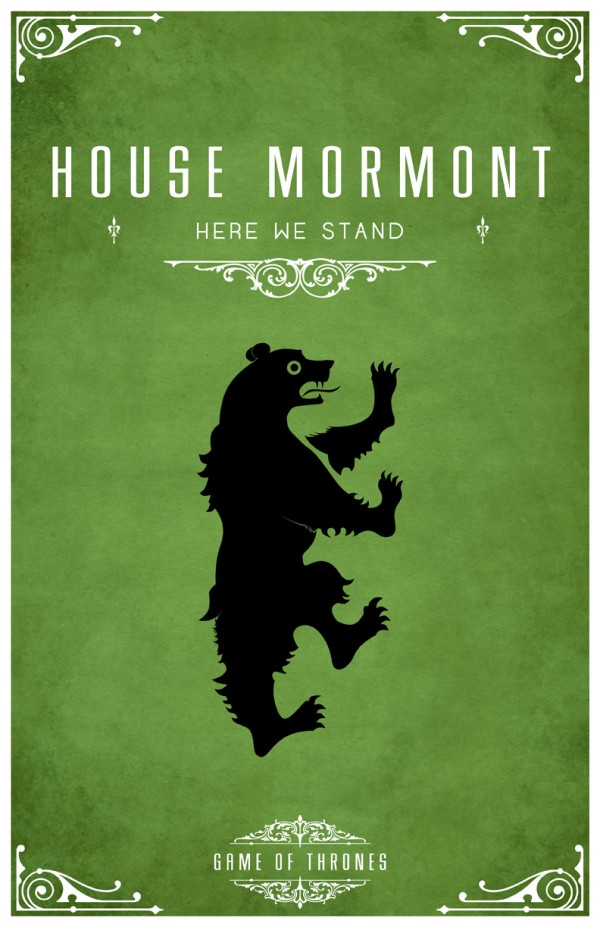 affiche minimaliste poster tv game of thrones 05 Affiches minimalistes pour Game of Thrones