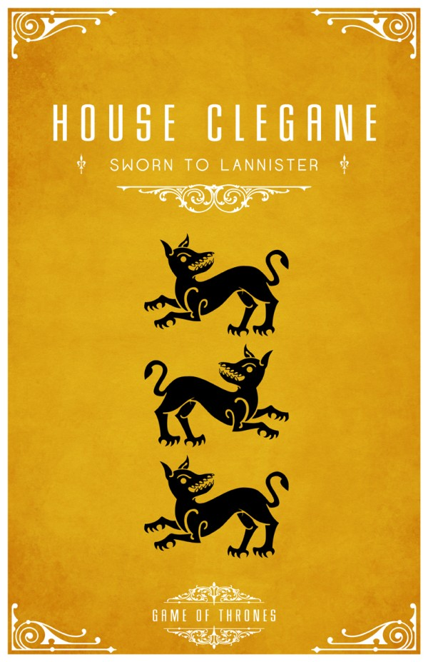affiche minimaliste poster tv game of thrones 06 Affiches minimalistes pour Game of Thrones