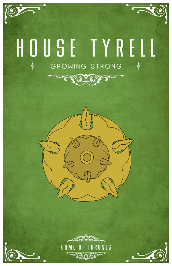 affiche minimaliste poster tv game of thrones 07 Affiches minimalistes pour Game of Thrones