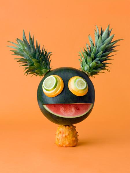 animaux legumes cark kleiner 01 Les animaux en fruits et légumes de Carl Kleiner