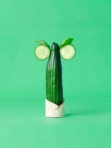 animaux legumes cark kleiner 05 Les animaux en fruits et légumes de Carl Kleiner
