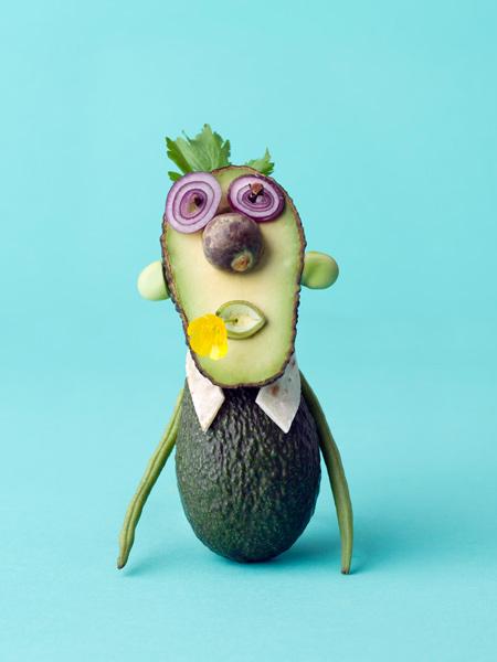 animaux legumes cark kleiner 07 Les animaux en fruits et légumes de Carl Kleiner