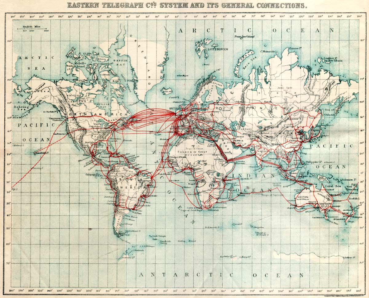 cable sous marin 1901 Les câbles sous marins de 1900 à nos jours