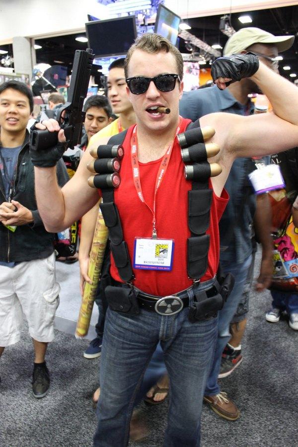 costume deguisement cosplay comic con 2011 07 Les meilleurs costumes de Comic Con 2011