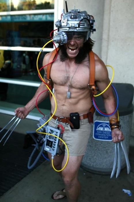 costume deguisement cosplay comic con 2011 17 Les meilleurs costumes de Comic Con 2011