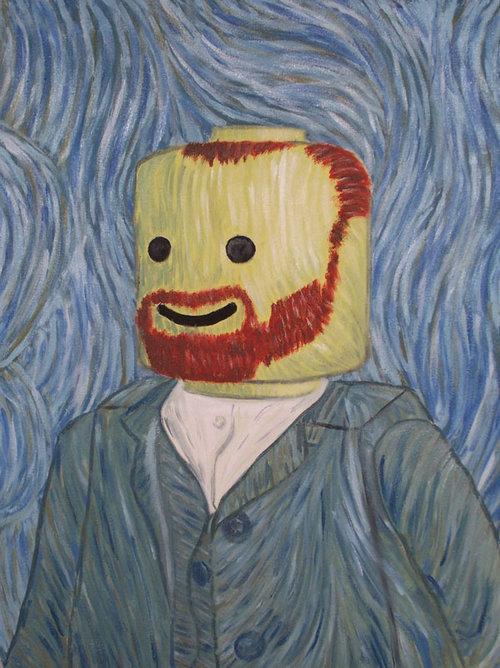 lego van gogh Van Gogh, les parodies et les geeks