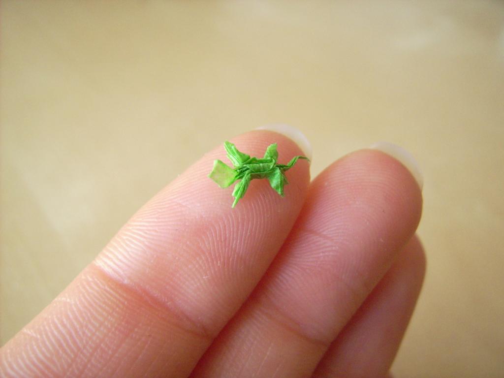 mini origami 05 Des origamis miniatures