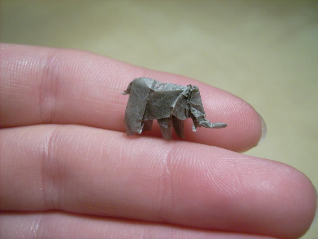 mini origami 09 Des origamis miniatures